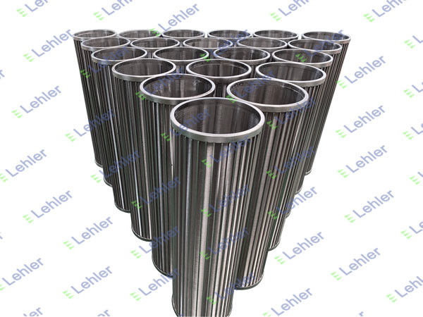 Wastewater Filtration 1.0mm SS304 Basket Screen Filter